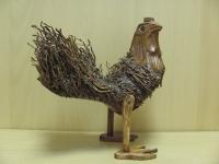 Курица с опереньем