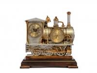 Часы паровоз