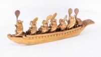 """Статуэтка """"Семь слонов в лодке"""""""