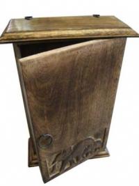 Ящик для ключей(дерево+сталь)
