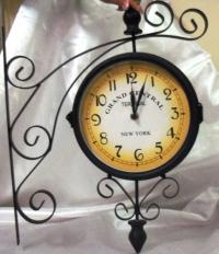 Часы вокзальные (двухсторонние)