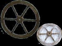 Колесо декоративное (малое) (эконом)