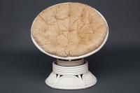 Кресло-качалка вращающееся «Андреа» с подушкой