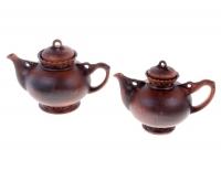 """Набор чайный """"Карачун"""" из глины, 2 предмета"""