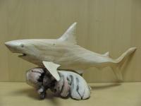 Акула-резьба
