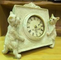 Часы настольные с собачками