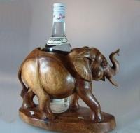 "Подставка под бутылку ""Слон"""