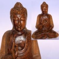 "Фигурка деревянная ""Благославляющий Будда"""
